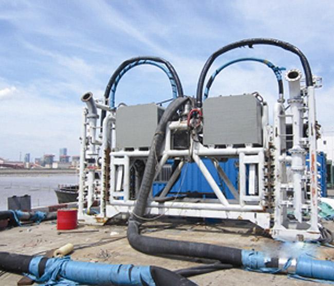 Океанский резиновый нефтепроводный рукав высокого давления